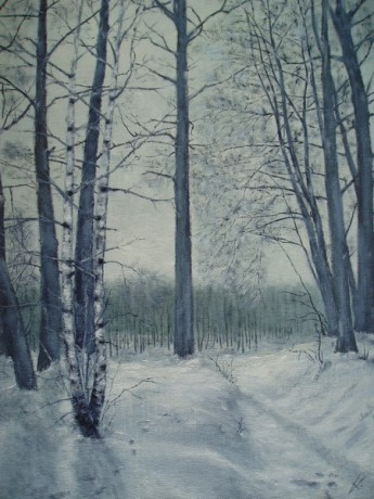 Zimní ráno - prodáno